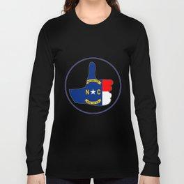 Thumbs Up North Carolina Long Sleeve T-shirt