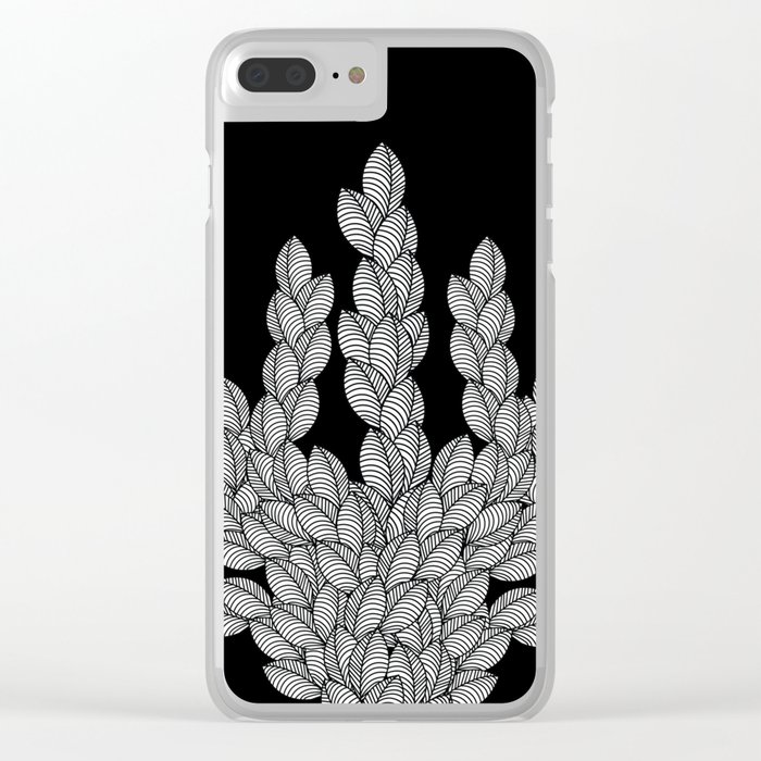 Leaf 12 Clear iPhone Case