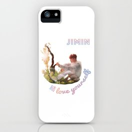 BTS Love Yourself Answer Design - Jimin iPhone Case