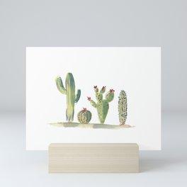 Desert Cacti Mini Art Print