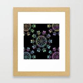 Flora Bohemia Framed Art Print