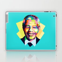Nelson Mandela | Rainbow Nation Laptop & iPad Skin
