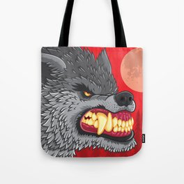 Night of the Werewolf Tote Bag