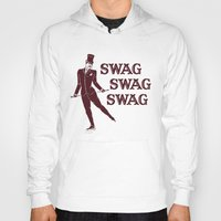 swag Hoodies featuring Swag Swag Swag by Krissy Diggs