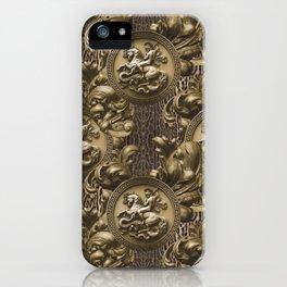St Michael Baroque iPhone Case