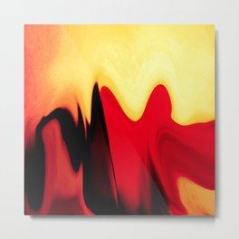 eternal burning flame of life Metal Print