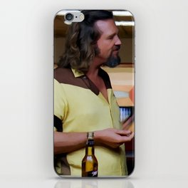 Jeff Bridges & Sam Elliot @ The Big Lebowski (Joel and Ethan Coen - 1988) iPhone Skin