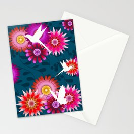 Tropical Flowers 1b Stationery Cards