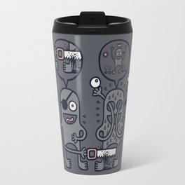 To Attain Higher Perspective Through Detachment Travel Mug