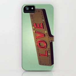 Love Signs iPhone Case