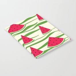 Watermelon pattern . 2 Retro . Notebook