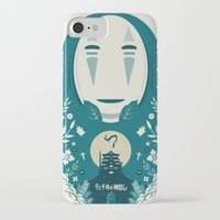 spirited away iPhone & iPod Cases featuring Spirited by Duke Dastardly