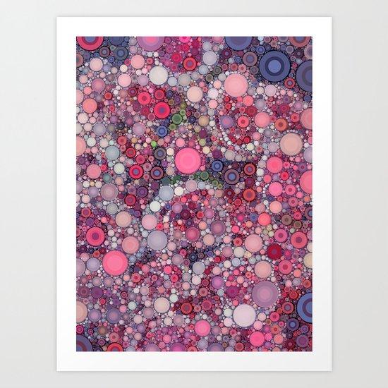 :: Pink Constellation :: Art Print