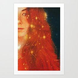 Red Magic Art Print