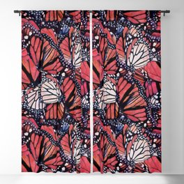 Monarch Butterflies II Blackout Curtain