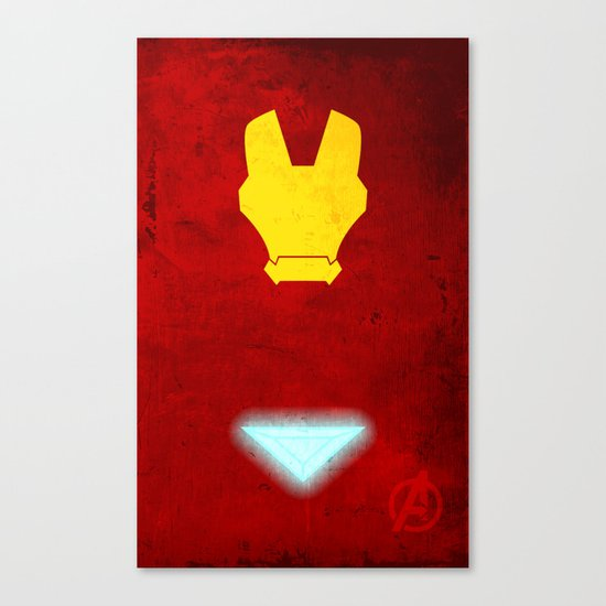 Iron Man: Avengers Movie Variant Canvas Print