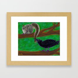 Couldn't Help It Framed Art Print