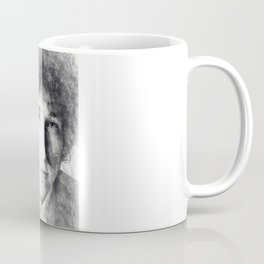 Bob Dylan portrait 03 Coffee Mug
