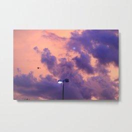 clouds(flying)2 Metal Print