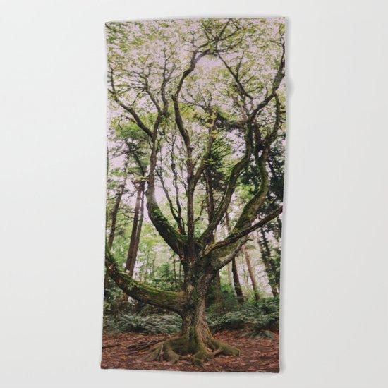 Forest Magic Beach Towel
