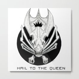 Hail to the Queen Metal Print