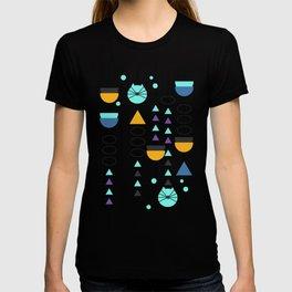 Kitty mid-century decor T-shirt