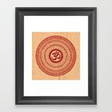 lialiom mandala Framed Art Print