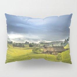 Vietnam Rice Cultivation Pillow Sham
