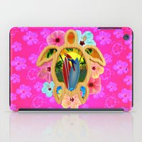 surfboard iPad Cases featuring Hawaiian Surfboard Sunset by MacDonald Creative Studios