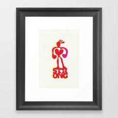 Strong! Framed Art Print