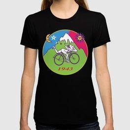 Albert Hofmann Bicycle Day LSD 1943 Circle T-shirt