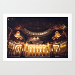 The Grand Mosque Art Print