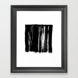 Closed No. 5 Framed Art Print