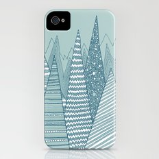 Snowy Mountains Slim Case iPhone (4, 4s)