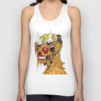 medieval Tank Tops featuring Medieval Head by Theo Szczepanski