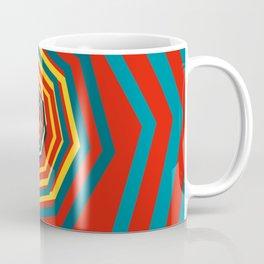 Time Warp In Red Coffee Mug