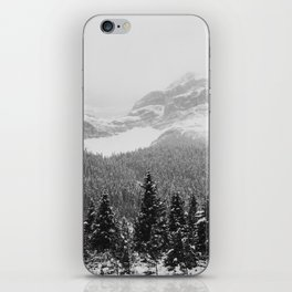 Landscape Photography Winter Wonderland | North Pole | Blizzard Forest Mountain iPhone Skin