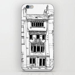 Brussels Art Nouveau iPhone Skin