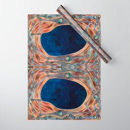 Night Portal Dream Pattern Wrapping Paper