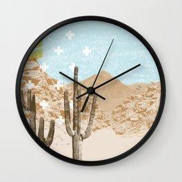 Desert Mountain Wall Clock