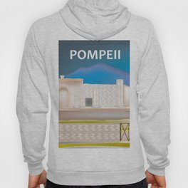 Pompeii, Italy - Skyline Illustration by Loose Petals Hoody