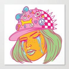 Tough Girl Canvas Print