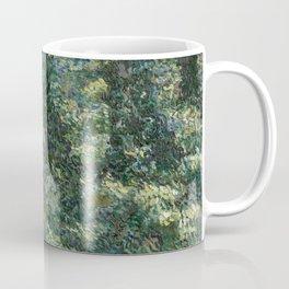 "Vincent Van Gogh ""Trees and undergrowth"" Coffee Mug"