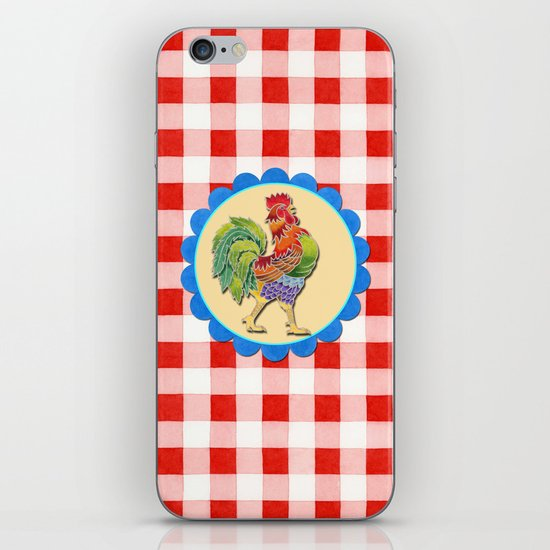 Rise and Shine Rooster iPhone & iPod Skin