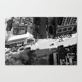 Chicago Intersections Canvas Print