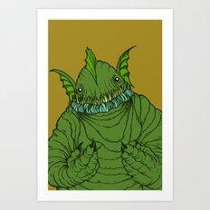 Dagon wants a hug Art Print