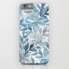 watercolor Botanical garden II Slim Case iPhone 6