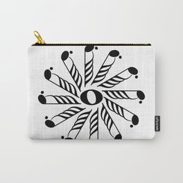 Music note mandala 3 Carry-All Pouch
