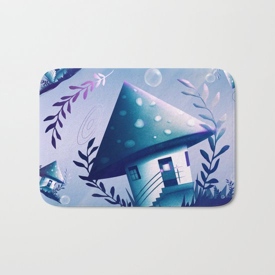 Magic Mush Room - Pattern Bath Mat