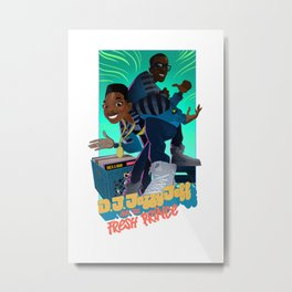 The Brand New Funk Metal Print
